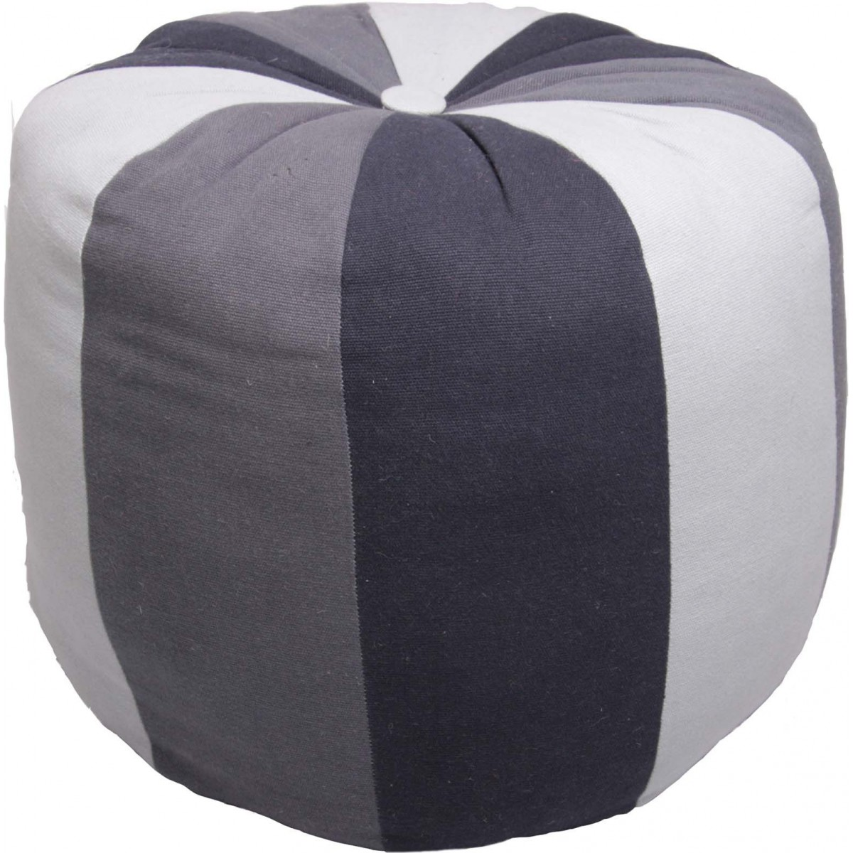 pouf enfant original gris beige big ball par 1 pied sur terre. Black Bedroom Furniture Sets. Home Design Ideas
