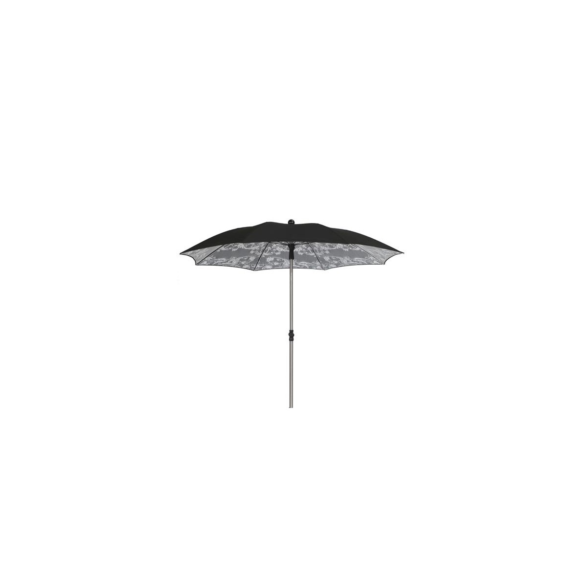 parasol inclinable de forme ronde cache cache sign sywawa. Black Bedroom Furniture Sets. Home Design Ideas
