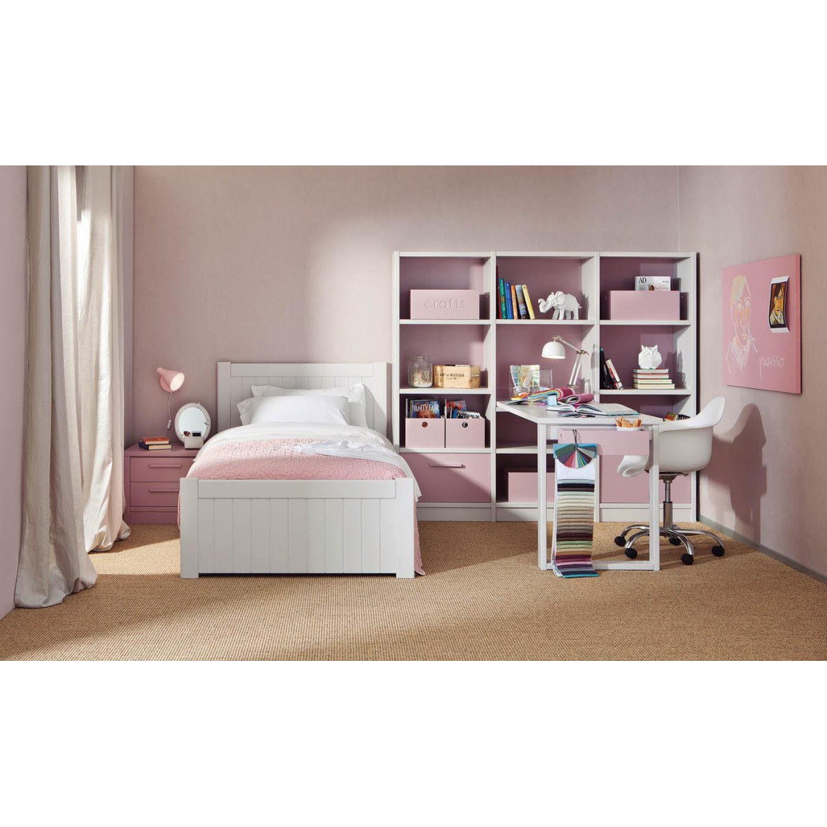chambre premier ge pour enfants de haute qualit sign e asoral. Black Bedroom Furniture Sets. Home Design Ideas