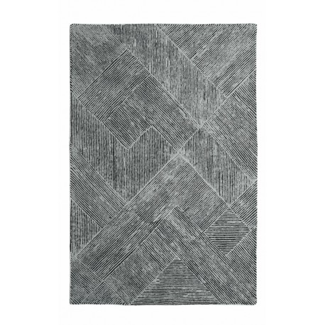 tapis moderne en laine taupe balta par the rug republic. Black Bedroom Furniture Sets. Home Design Ideas