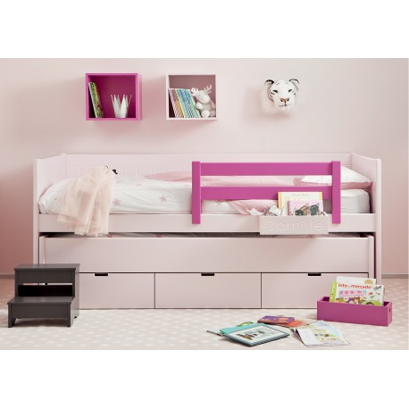 lit 2 en un avec tiroir de rangement bahia movil par asoral. Black Bedroom Furniture Sets. Home Design Ideas