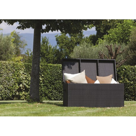 coffre de rangement pour terrasse et jardin box sign talenti. Black Bedroom Furniture Sets. Home Design Ideas