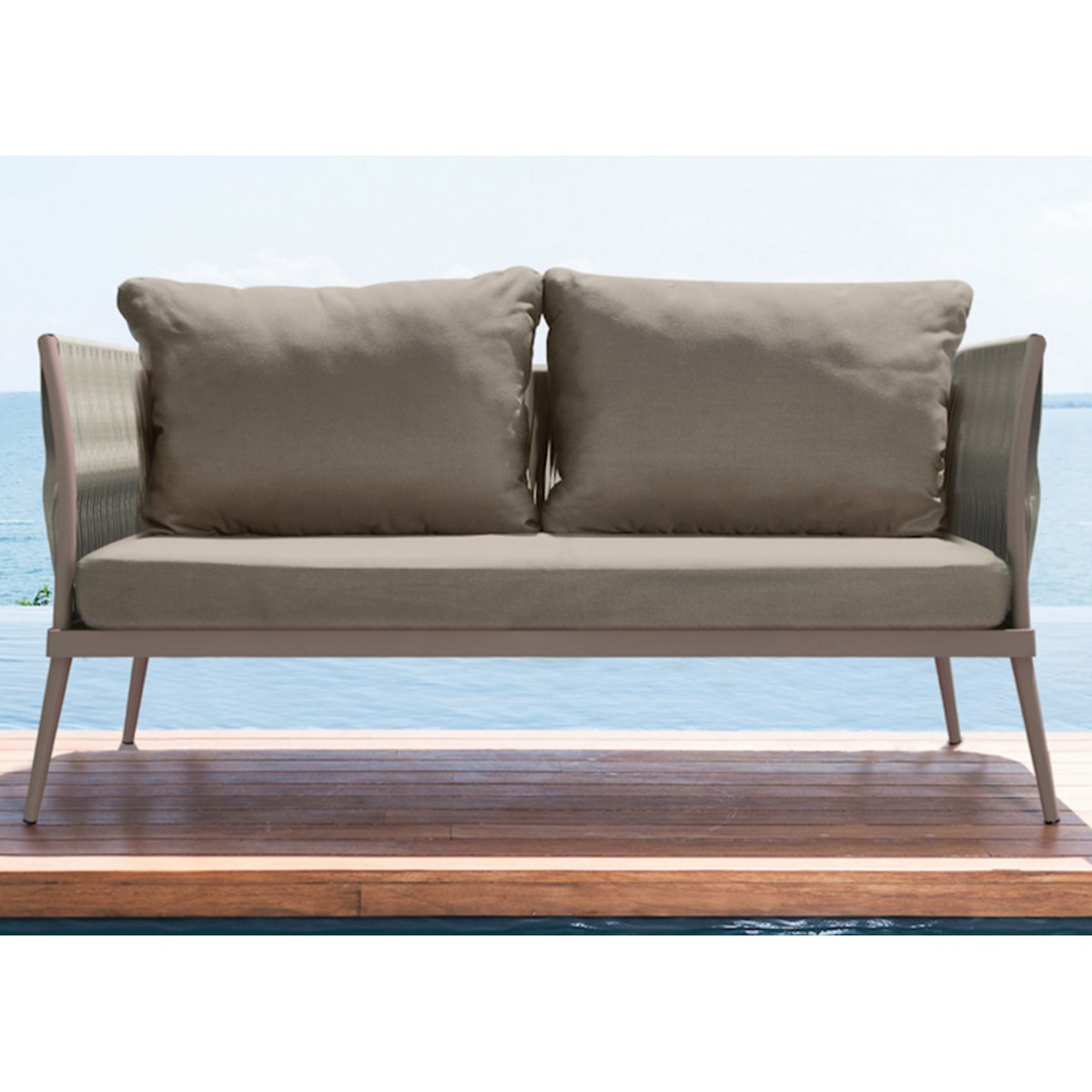 ... › Canape sofa 3 places design interieur exterieur elite talenti