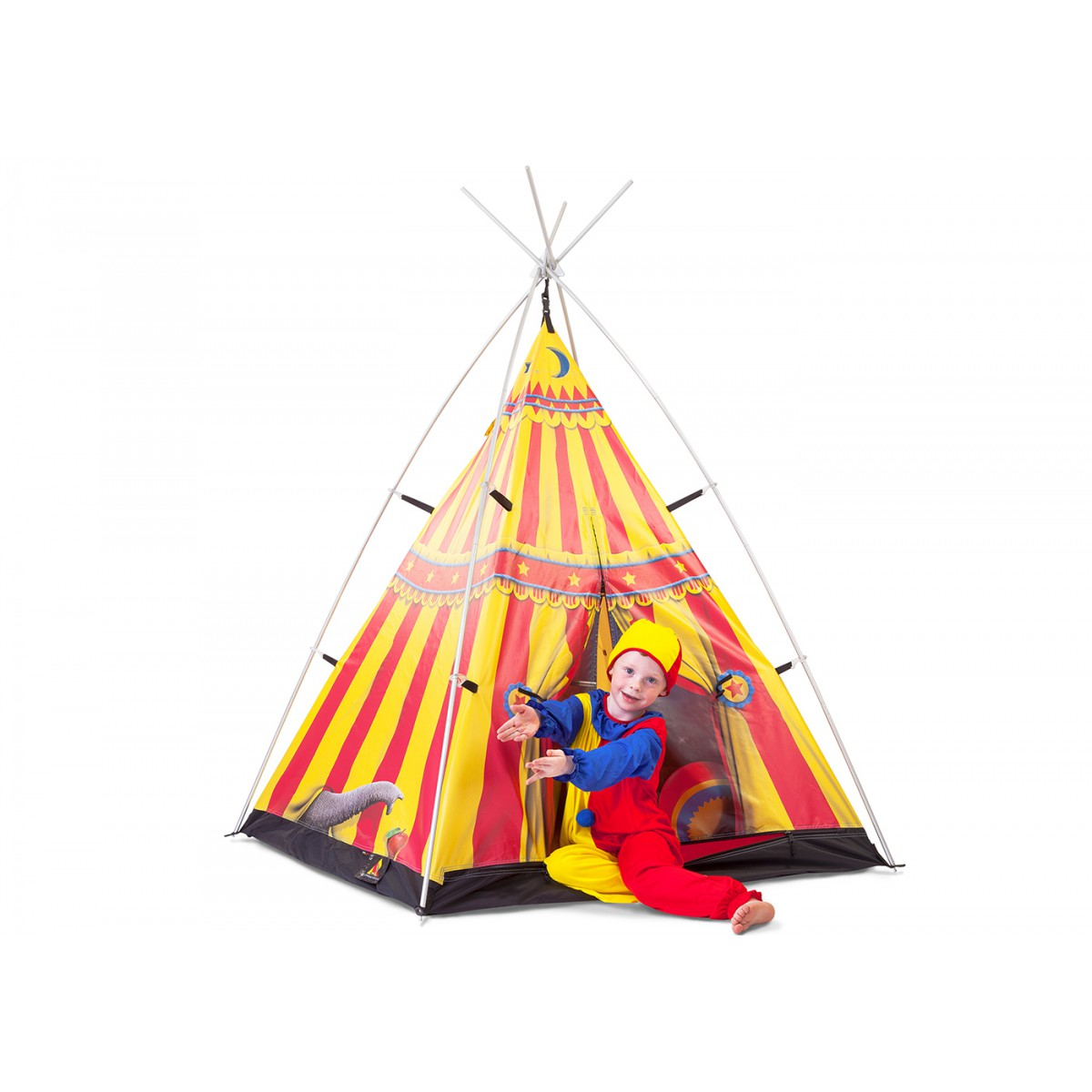 tente de camping pour enfant th me cirque fieldcandy. Black Bedroom Furniture Sets. Home Design Ideas