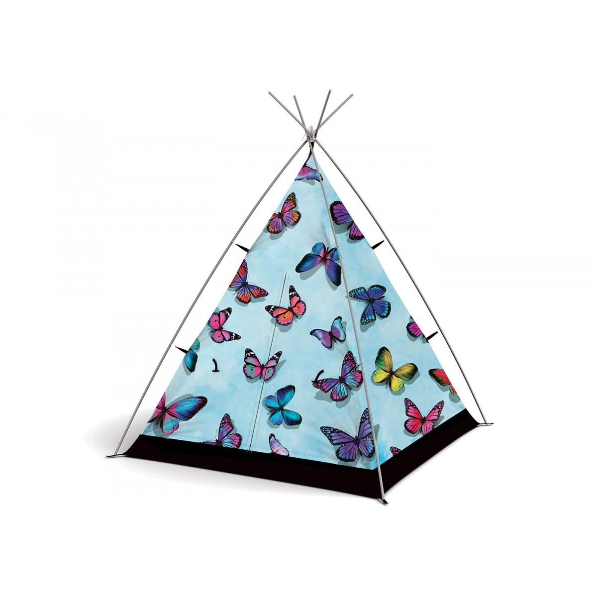 Tente de jardin ou de camping pour enfant th me papillon for Enfant design