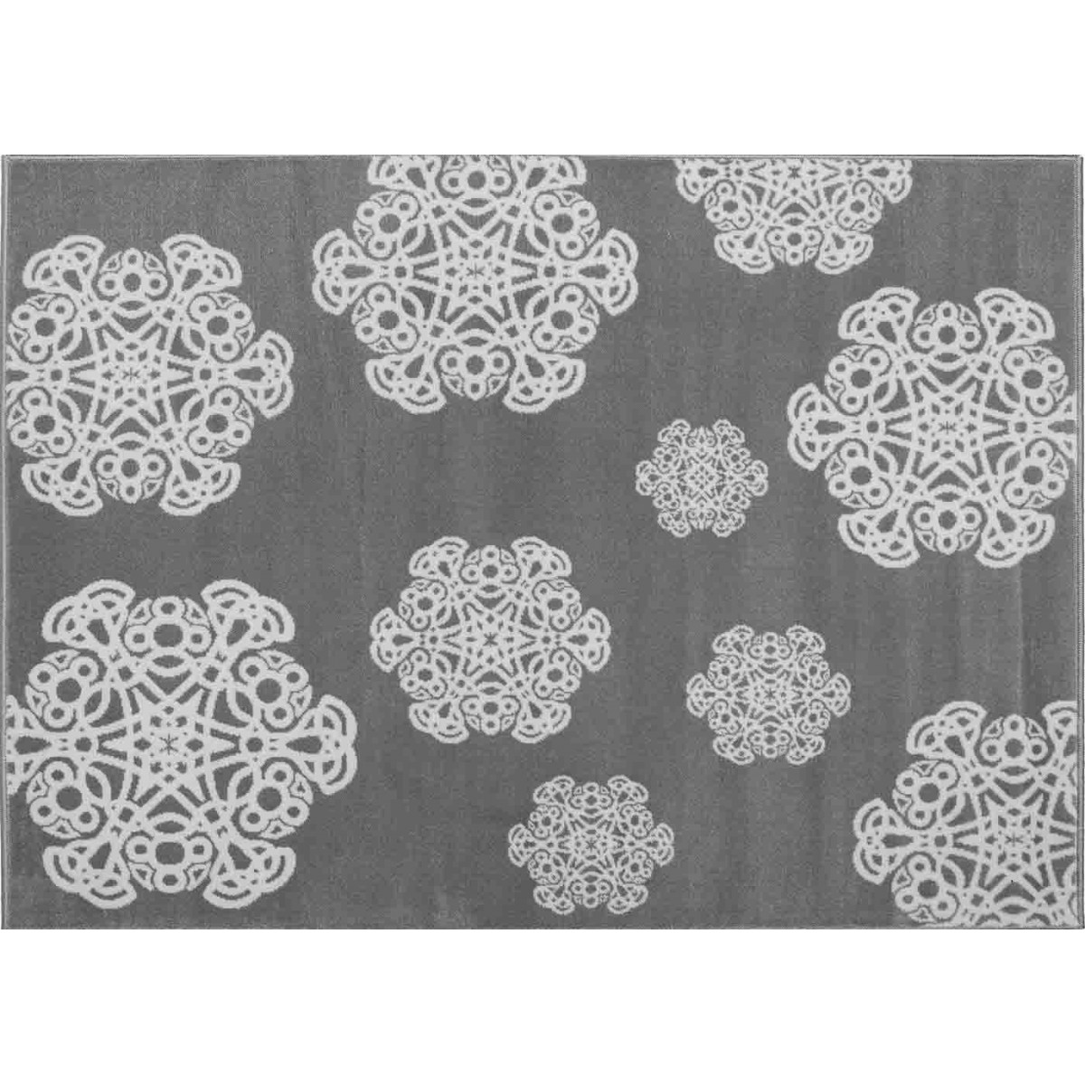 tapis graphique tendance mandala sign aratextil. Black Bedroom Furniture Sets. Home Design Ideas