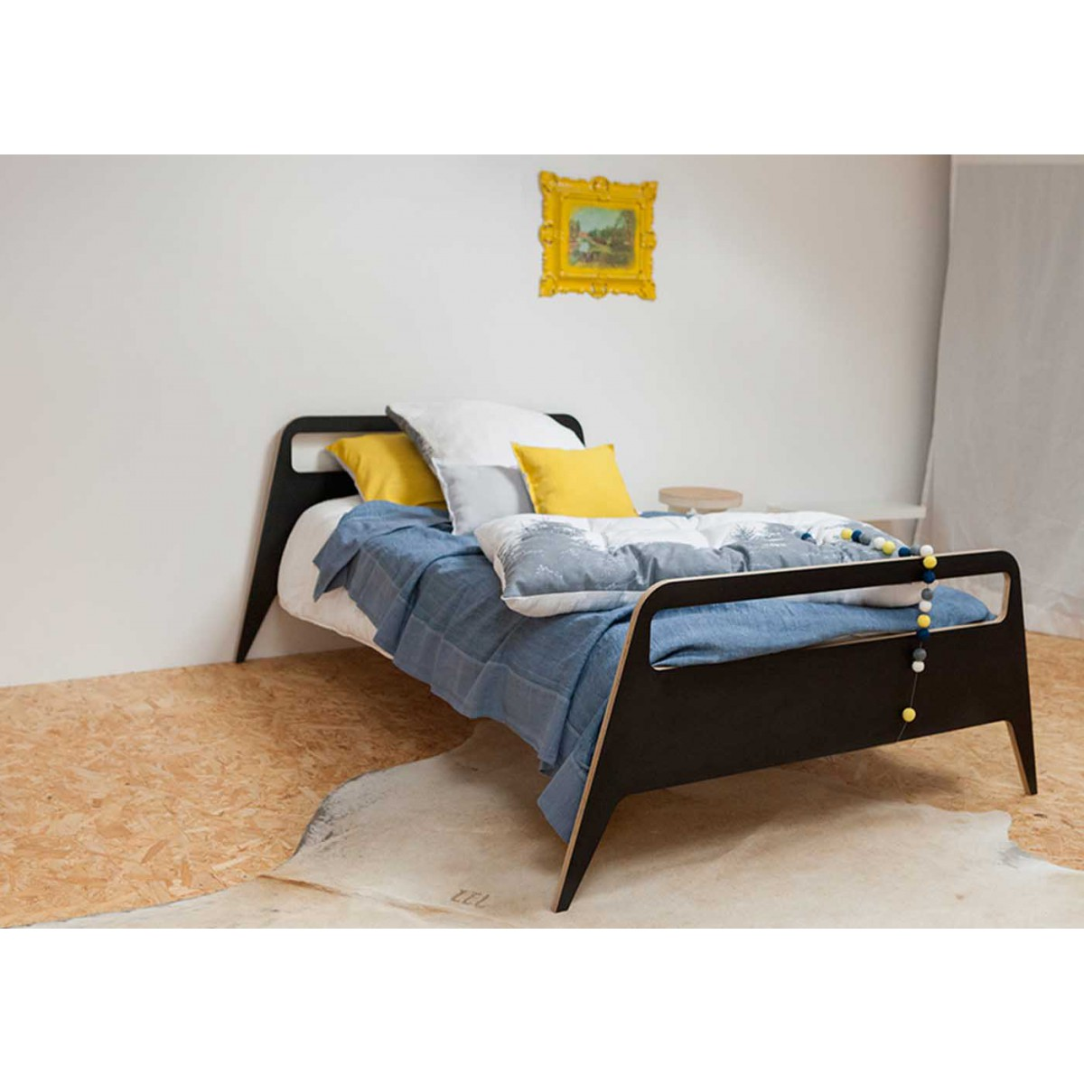 Lit moderne 1 ou 2 places travel par blomkal - Lit enfant 1 place ...