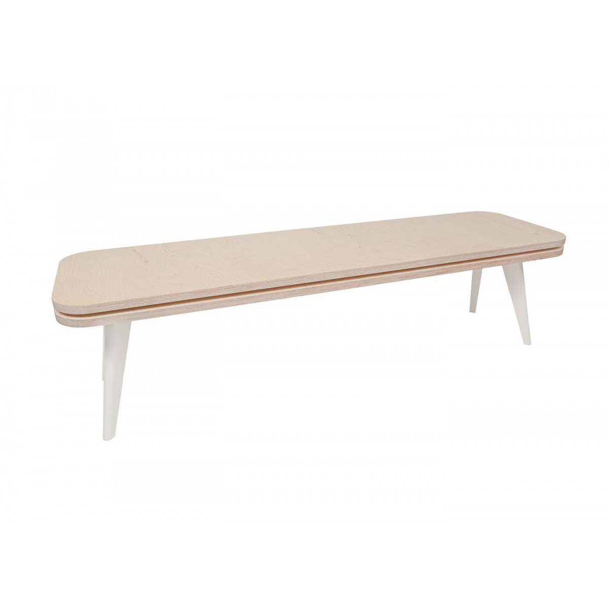 Table basse design bois clair for Table basse bois design