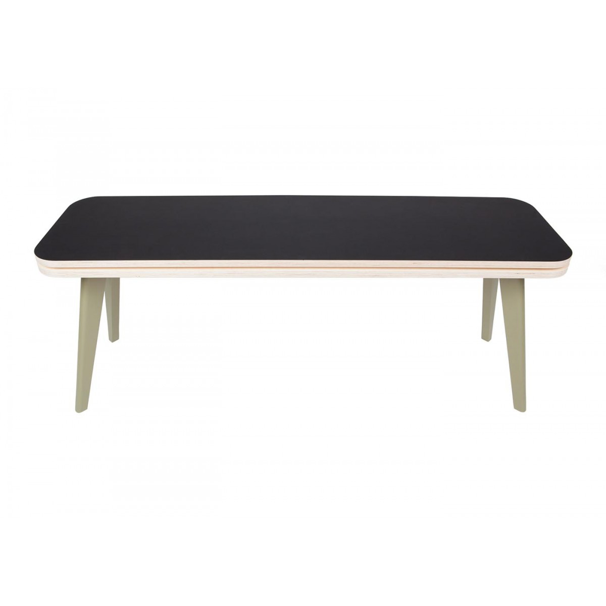 Banc en bois deisgn scandinave josyan sign blomkal Design interieur table basse en bois