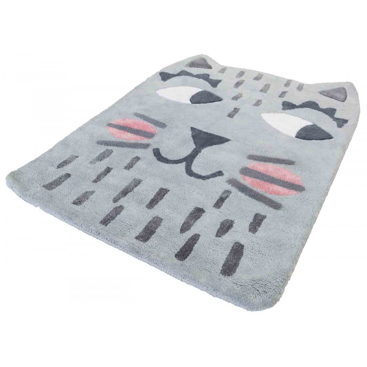 tapis enfant moderne et de qualit ralph le chat par nattiot. Black Bedroom Furniture Sets. Home Design Ideas