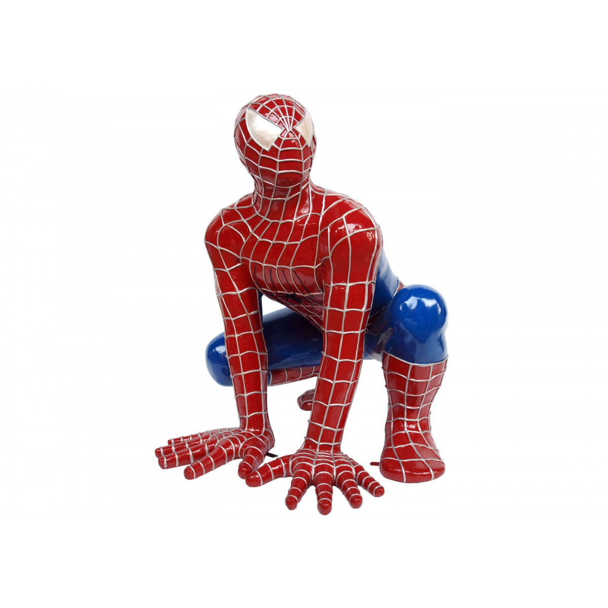 Statue spiderman en r sine taille xxl texartes for Resine deco