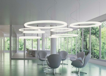 SUSPENSION CONTEMPORAINE FORME SPHERE DESIGN ROBERTO PAOLI - GIOTTO PAR SLIDE