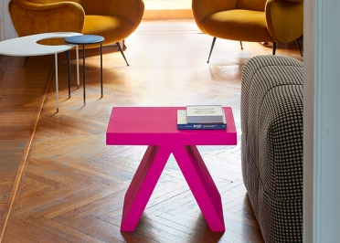 TABLE D'APPOINT DESIGN PROSPERO RASULO EN POLYETHYLENE 13 COULEURS - TOY PAR SLIDE