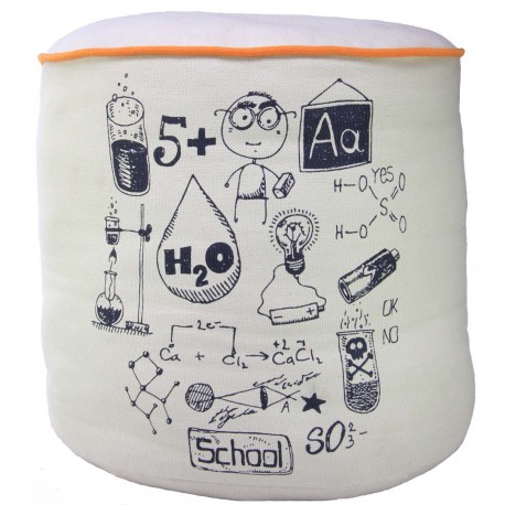 POUF ENFANT CHEMICAL