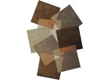 TAPIS TUFTE MAIN PEBBLES 9718