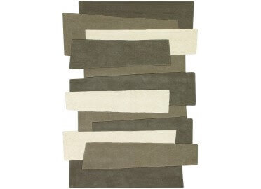 TAPIS TUFTE MAIN PEBBLES 9714