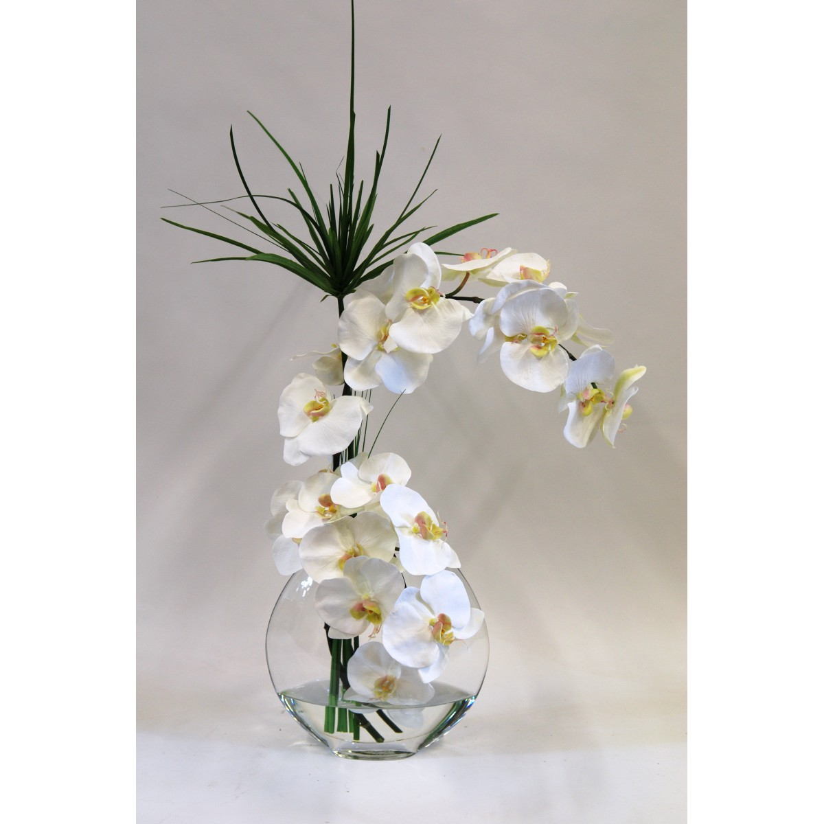 Composition florale dans vase transparent fashion designs - Composition florale vase en verre ...