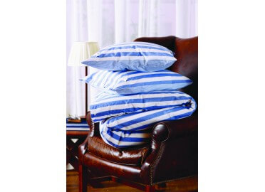 2 TAIES D'OREILLER BIG STRIPE