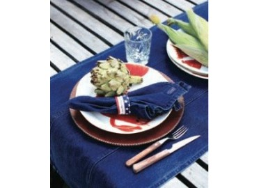 2 CHEMINS DE TABLE DENIM