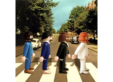"ŒUVRE D'ARTISTE EDITION LIMITEE ""ABBEY ROAD"" PAR RICHARD UNGLIK"