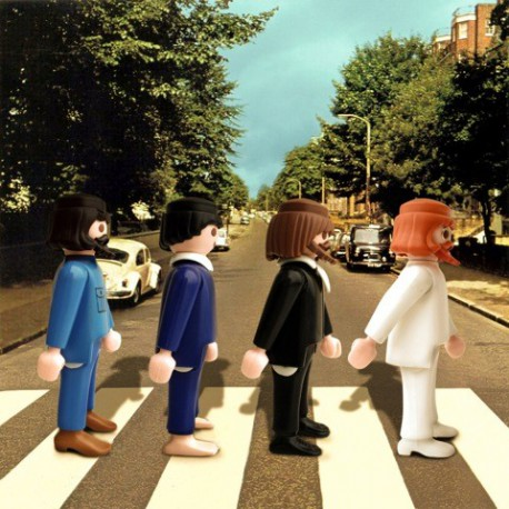 "TABLEAU ""ABBEY ROAD"" PAR RICHARD UNGLIK"