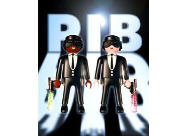 "IDEE DECO ORIGINALE ""MEN IN BLACK"" PAR RICHARD UNGLIK"