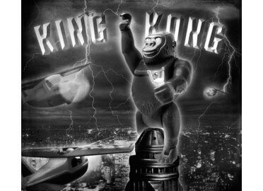 "TABLEAU ""KING KONG"" PAR RICHARD UNGLIK"