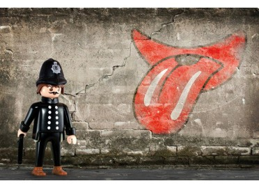 "DECO ROCK ""THE ROLLING STONES"" PAR RICHARD UNGLIK"