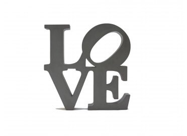 "OBJET DECORATIF ""BIG LOVE"""