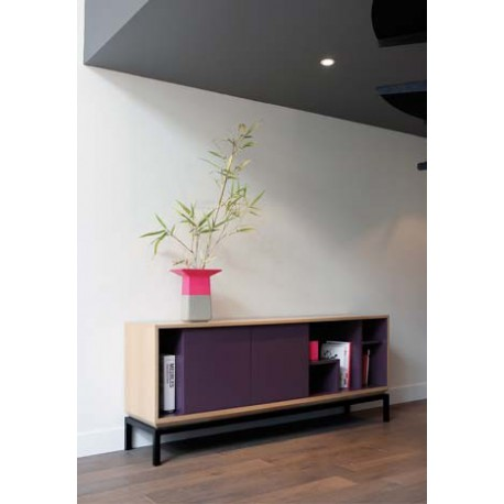 Meuble de rangement design buffet meuble tv my city par miiing for Buffet meuble