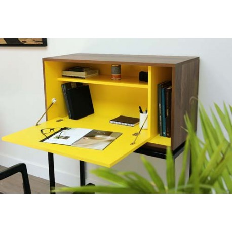 Meuble de bureau design secr taire my city sign miiing for Bureau meuble design