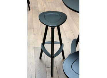 TABOURET DE BAR POP NOIR