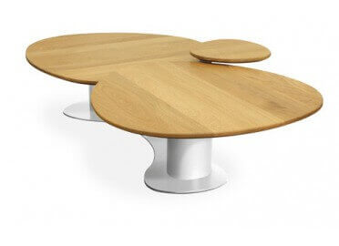 TABLE BASSE TRIO POP BOIS