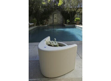 JARDINIERE - TABOURET REVERSIBLE MUSE