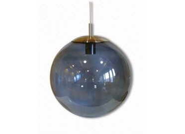 SUSPENSION BOULE EN VERRE SOUFFLE