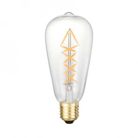 AMPOULE DECORATIVE SMILED POIRE FILAMENTS SAPIN LEDS