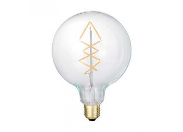 AMPOULE DESIGN SMILED GLOBE FILAMENTS SAPIN LEDS
