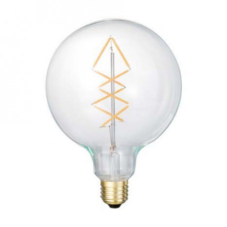 AMPOULE DECORATIVE SMILED GLOBE FILAMENTS SAPIN LEDS