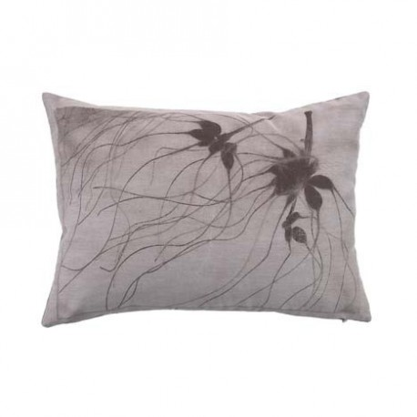 COUSSIN BRANCHES GRISES ICED BLOOM