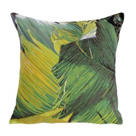 COUSSIN DECORATIF TRAVELLER'S PALM