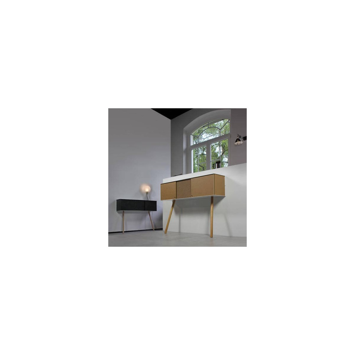 console au design scandinave intemporel et chic sign e vejtsberg. Black Bedroom Furniture Sets. Home Design Ideas