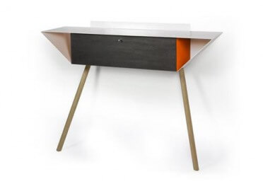 CONSOLE D'INTERIEUR COLOREE PAR OPOSSUM DESIGN