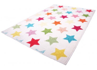 TAPIS ETOILES MULTICOLORE HOLLY