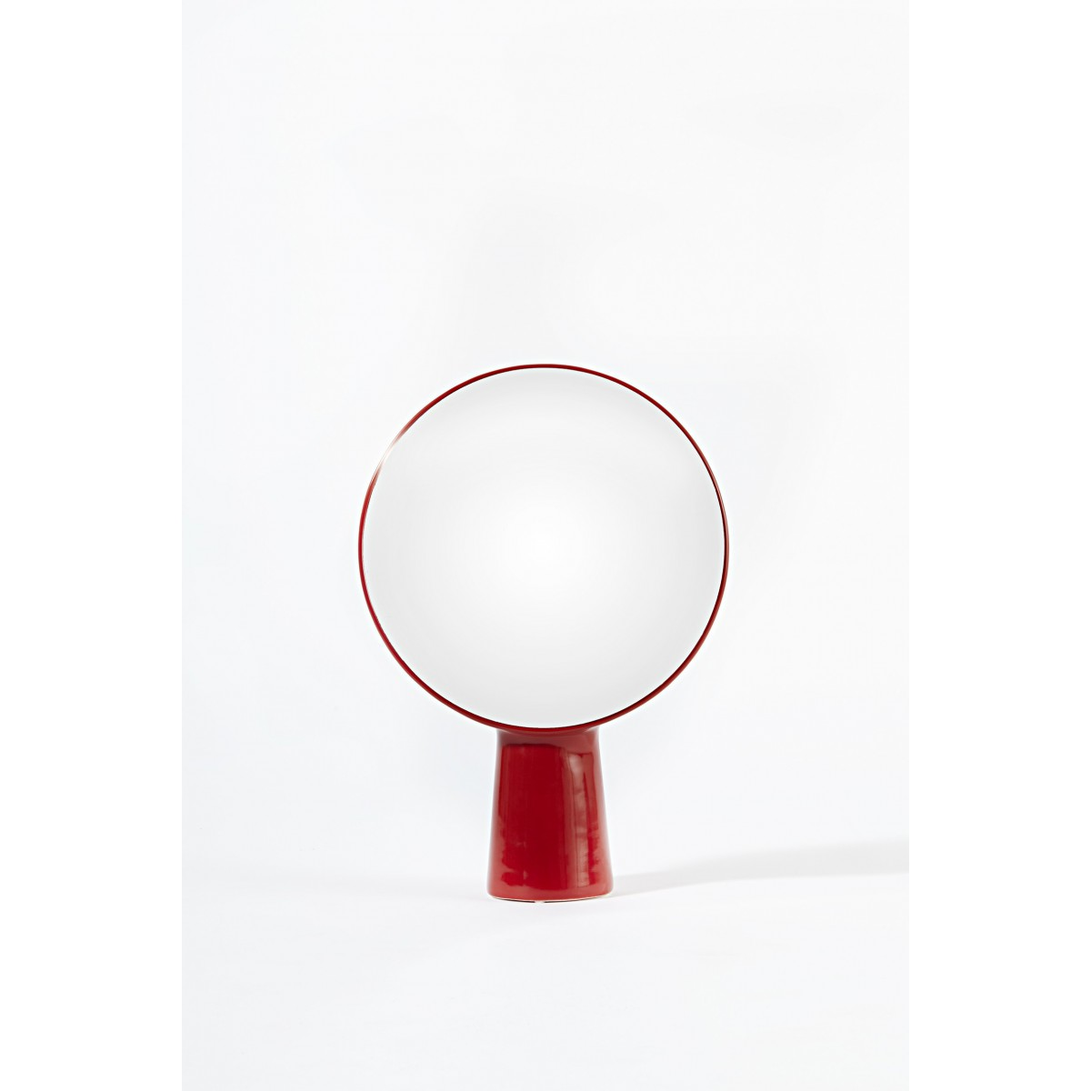 Miroir de table design cyclope par ionna vautrin for Miroir a poser sur table