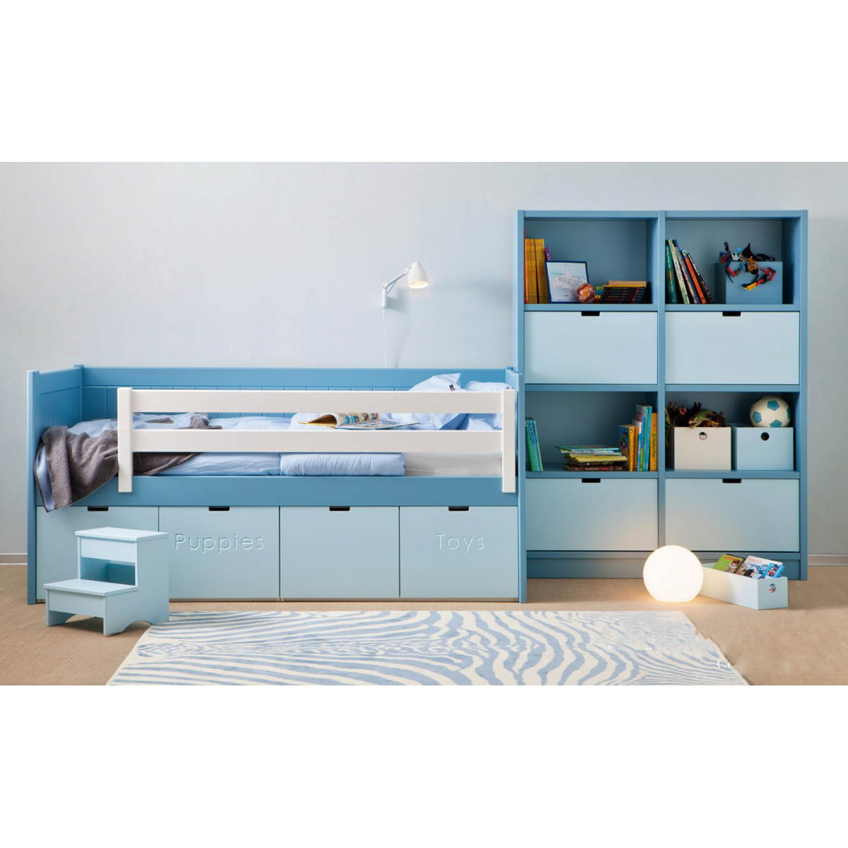 Distributeur officiel du mobilier enfants de qualit asoral for Ensemble meuble de chambre