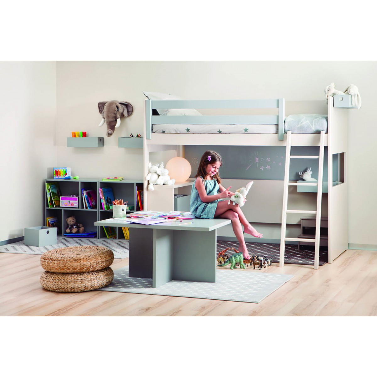 Chambres d 39 enfants design de qualit et volutives for Enfant design