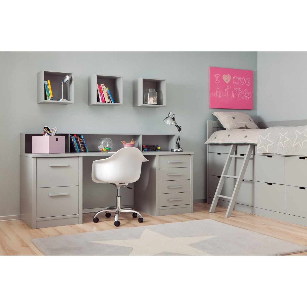 chambre enfant de qualit asoral vendues chez ksl living. Black Bedroom Furniture Sets. Home Design Ideas