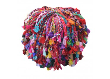POUF ORIGINAL MULTICOLORE GYPSY