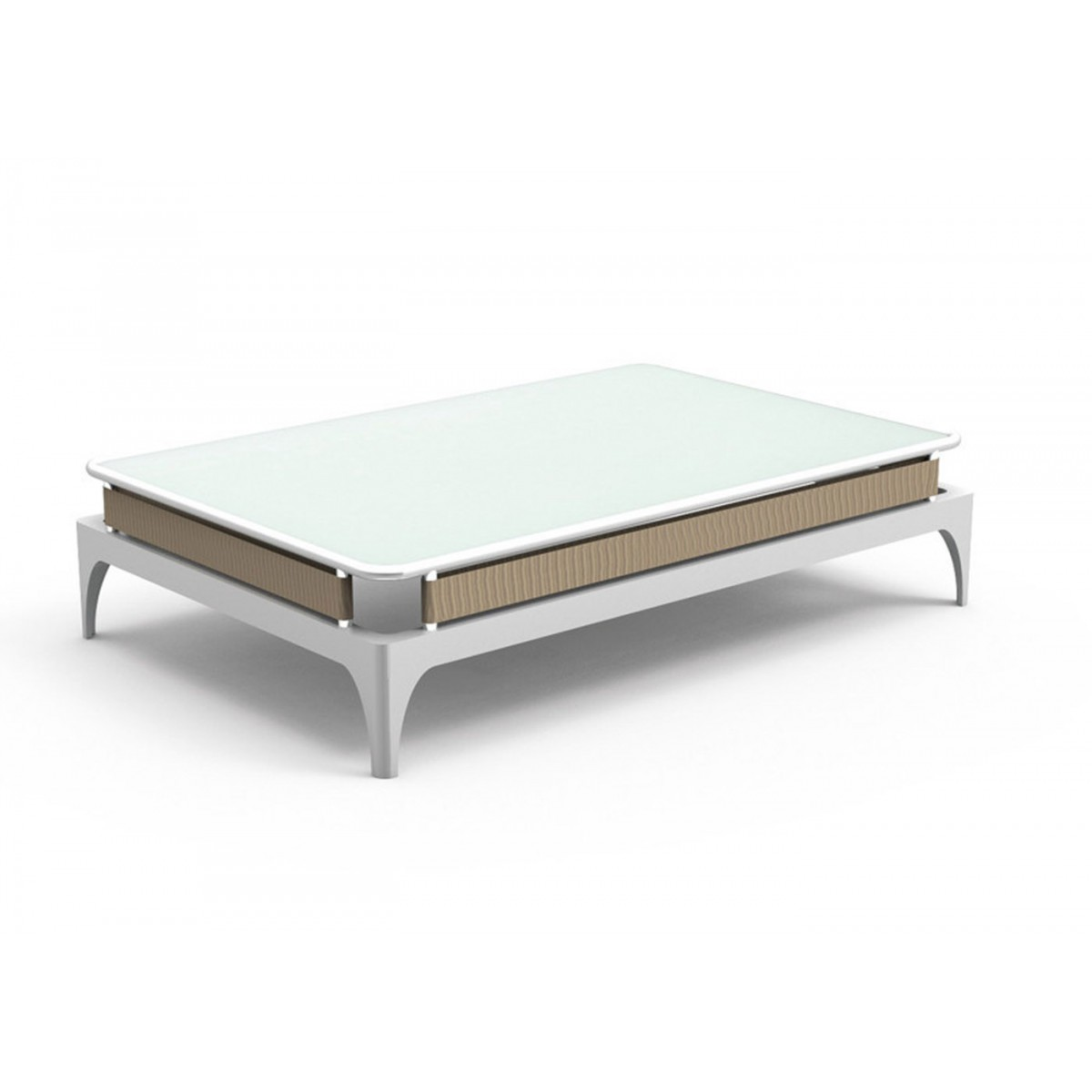 Table basse design pad roberto serio par talenti - Table basse pour salon ...
