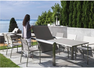 TABLE DE REPAS DESIGN EXTENSIBLE 240-360 CM PATCH PAR TALENTI